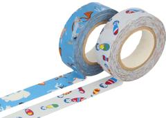 CL26337-04 Set 2 cintas adhesivas masking tape washi surtido disenos D Classiky s