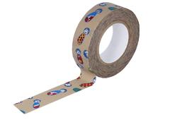 CL26338-06 Cinta adhesiva masking tape washi kokeshi camel Classiky s