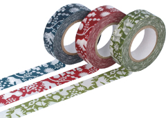 CL26531-03 Set 3 cintas adhesivas masking tape washi forest of squirrel colores surtidos Classiky s