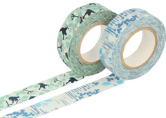 CL26532-03 Set 2 cintas adhesivas masking tape washi disenos surtidos C Classiky s