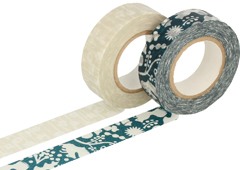 CL26532-04 Set 2 cintas adhesivas masking tape washi disenos surtidos D Classiky s