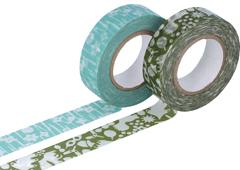 CL26532-05 Set 2 cintas adhesivas masking tape washi disenos surtidos E Classiky s