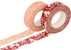 CL26532-06 Set 2 cintas adhesivas masking tape washi disenos surtidos F Classiky s