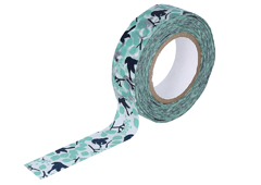 CL26533-01 Cinta adhesiva masking tape washi message bird Classiky s