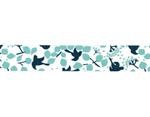 CL26533-01 Cinta adhesiva masking tape washi message bird Classiky s - Ítem2