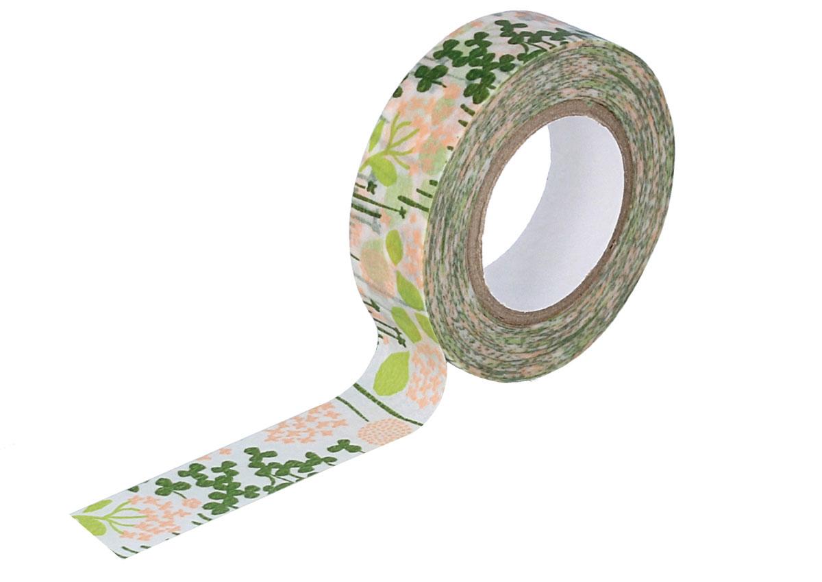 CL26533-04 Cinta adhesiva masking tape washi little garden verde Classiky s