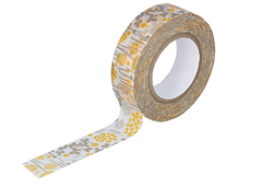 CL26533-05 Cinta adhesiva masking tape washi little garden beige Classiky s