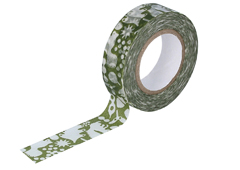 CL26533-08 Cinta adhesiva masking tape washi forest of squirrel verde Classiky s