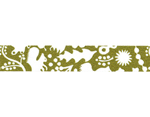 CL26533-08 Cinta adhesiva masking tape washi forest of squirrel verde Classiky s - Ítem2