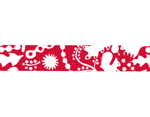 CL26533-09 Cinta adhesiva masking tape washi forest of squirrel rojo Classiky s - Ítem2
