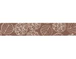 CL26534-02 Cinta adhesiva masking tape washi hydrangea marron Classiky s - Ítem2
