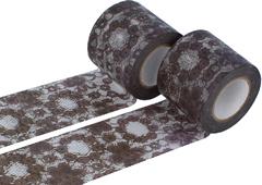 CL29120-02 Set 2 cintas adhesivas masking tape washi zwilinge marron Classiky s