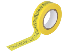 CL29128-01 Cinta adhesiva masking tape washi Hoffmann und Morike limon Classiky s