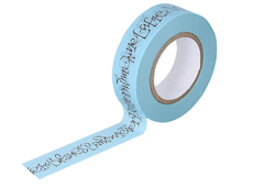 CL29128-02 Cinta adhesiva masking tape washi Hoffmann und Morike azul Classiky s