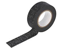 CL29129-02 Cinta adhesiva masking tape washi kuckuck negro Classiky s