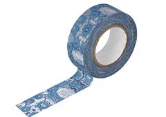 CL29131-01 Cinta adhesiva masking tape washi zwilinge azul Classiky s