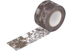 CL29132-02 Cinta adhesiva masking tape washi zwilinge marron Classiky s
