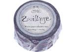 CL29132-03 Cinta adhesiva masking tape washi zwilinge violeta Classiky s - Ítem1