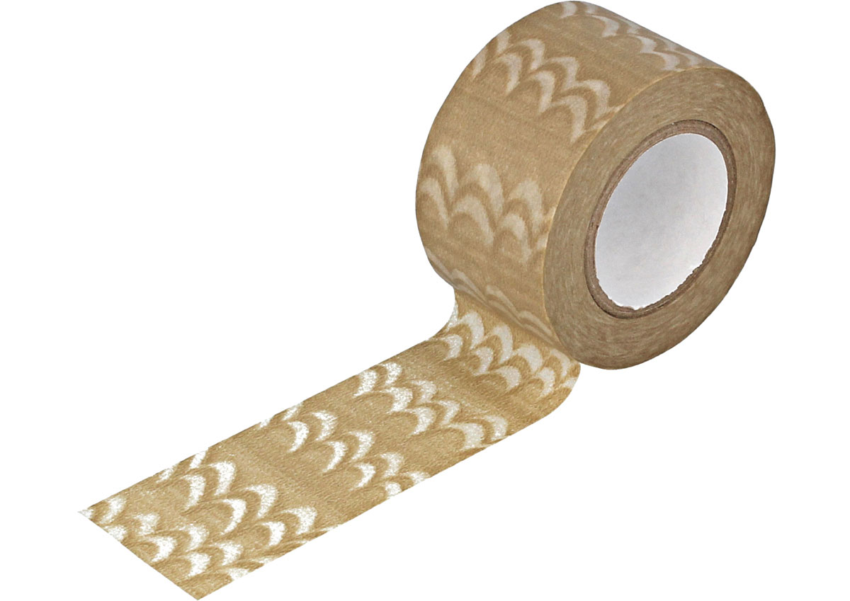 CL29139-01 Cinta adhesvia masking tape washi welle cafe con leche Classiky s