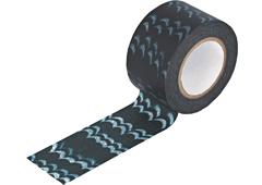 CL29139-03 Cinta adhesvia masking tape washi welle indigo Classiky s