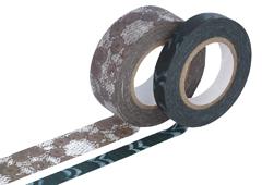 CL29141-02 Set 2 cintas adhesivas masking tape washi surtido disenos y medidas B Classiky s