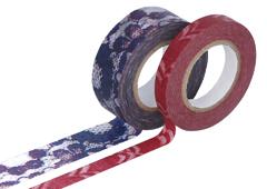 CL29141-03 Set 2 cintas adhesivas masking tape washi surtido disenos y medidas C Classiky s