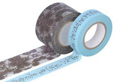 CL29141-05 Set 2 cintas adhesivas masking tape washi surtido disenos y medidas B Classiky s