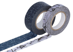 CL29141-07 Set 2 cintas adhesivas masking tape washi surtido disenos y medidas A Classiky s