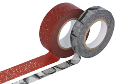 CL29141-09 Set 2 cintas adhesivas masking tape washi surtido disenos y medidas C Classiky s