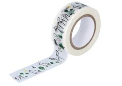 CL29926-05 Cinta adhesiva masking tape washi forest negro Classiky s
