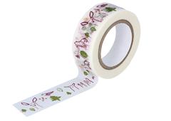 CL29926-06 Cinta adhesiva masking tape washi forest morado Classiky s