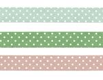 CL45026-02 Set 3 cintas adhesivas masking tape washi puntitos colores surtidos Classiky s - Ítem2