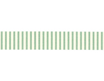 CL45028-10 Cinta adhesiva masking tape washi rayas verde Classiky s - Ítem2