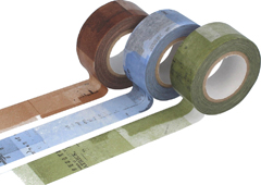 CL45202-04 Set 3 cintas adhesivas masking tape washi collage colores surtidos Classiky s