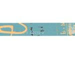 CL45203-04 Cinta adhesiva masking tape washi graffiti B azul Classiky s - Ítem2