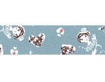 CL45321-04 Set 5 cintas adhesivas masking tape washi girls Asagi azul Classiky s - Ítem2