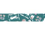CL45321-16 Set 6 cintas adhesivas masking tape washi cats Nando azul Classiky s - Ítem2