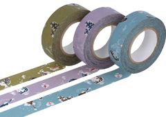 CL45322-01 Set 3 cintas adhesivas masking tape washi girls colores surtidos Classiky s