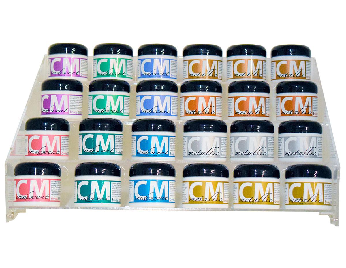 CM-100-024 Set 24 botes de pintura 3D display Creative Medium