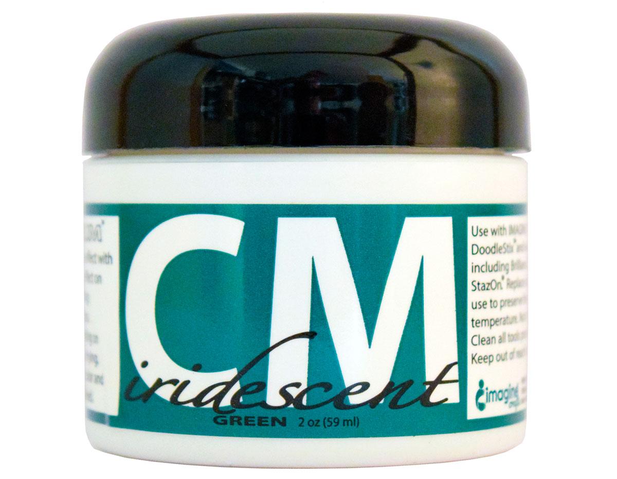 CM-IRI-005 Pintura 3D iridiscente verde Creative Medium