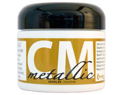 CM-MET-091 Pintura 3D metalica oro Creative Medium