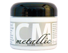 CM-MET-092 Pintura 3D metalica plata Creative Medium
