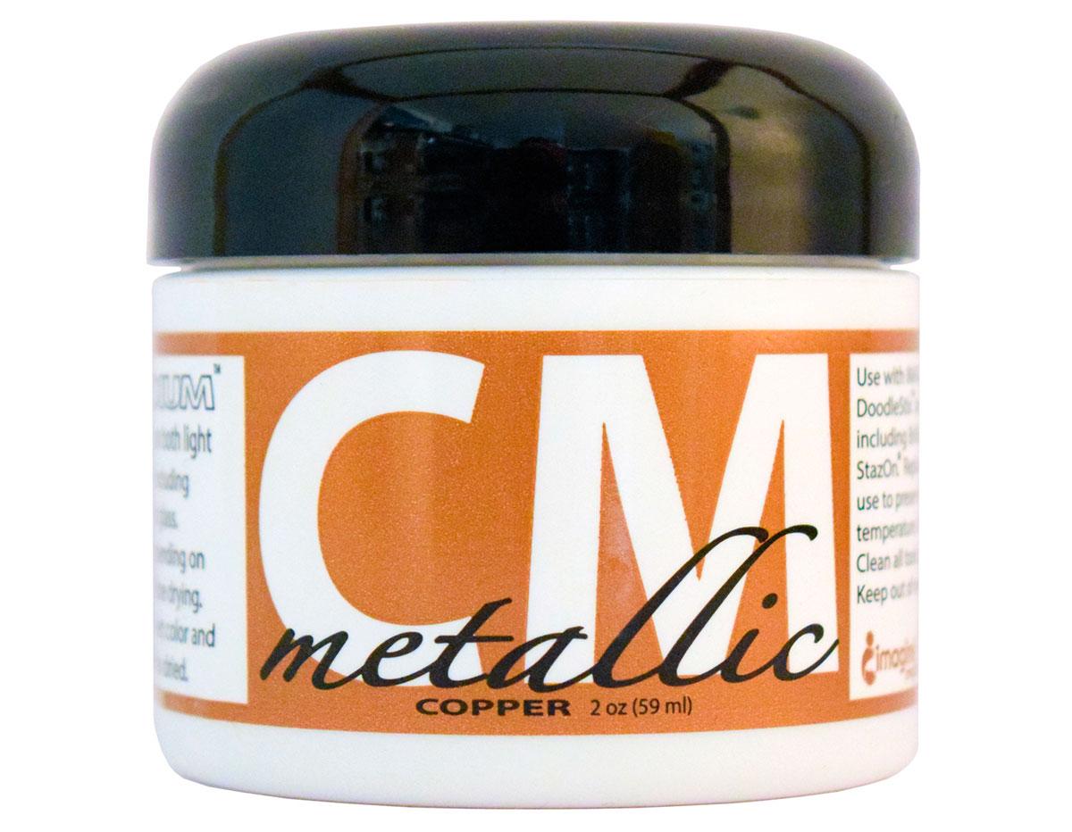 CM-MET-094 Pintura 3D metalica cobre Creative Medium