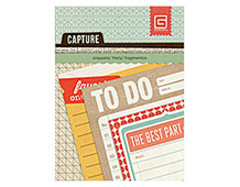 CPT-4246 CAPTURE - MINI SNIPPETS - JOURNAL Basic Grey