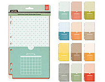 CPT-4250 CAPTURE - POCKET ASSORTMENT - CALENDAR Basic Grey