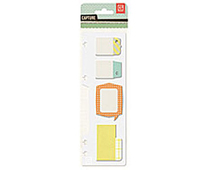 CPT-4257 CAPTURE - STICKY NOTE ASSORTMENT Basic Grey