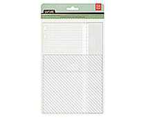 CPT-4261 CAPTURE - CLEAR ADHESIVE POCKETS Basic Grey