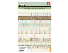 CPT-4404 CAPTURE - 6 5 X 9 5 PAPER PAD Basic Grey