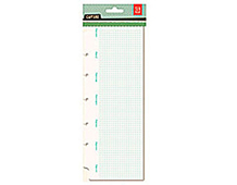 CPT-4405 CAPTURE 2- PAPER PAD WEEKLY NOTE PAD INSERT Basic Grey