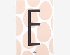 DAC11 Tarjeta postal alphabet E Dailylike